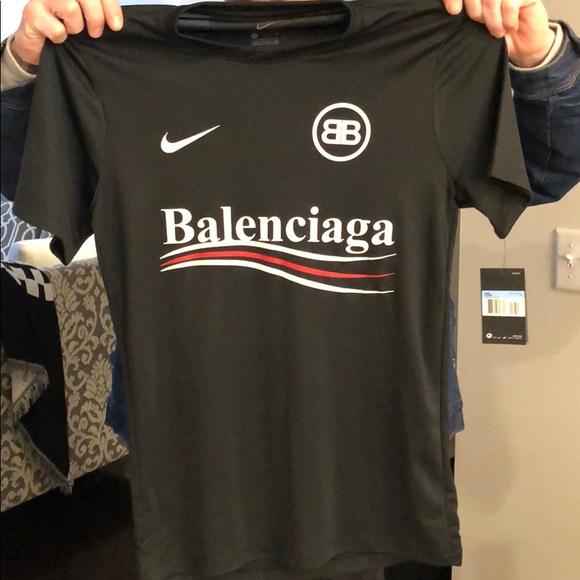 Balenciaga/Nike tee . Bought in the UK. NWT